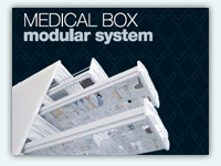 Catalógo de Cajoneras Medical Box Modular System